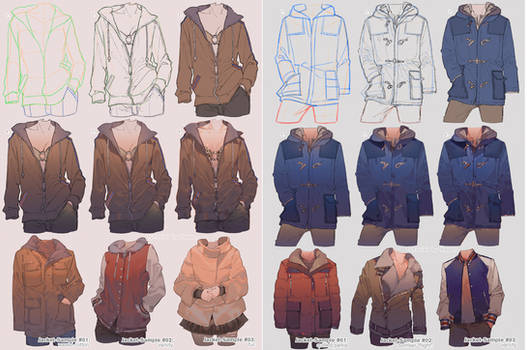 How To Draw Jacket