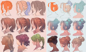 Drawing Hair (2019 ver.)