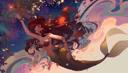 Part of your world by kawacy