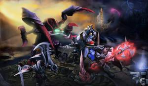 Battle! (Preview for Digi-Art Throwdown)