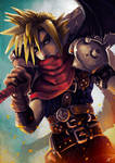 KH Cloud Strife by Adrian Wolve