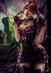 Anna Frozen Steampunk by AdrianWolve