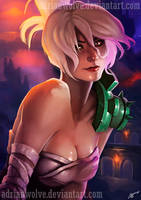 Riven the exile. NSFW available by AdrianWolve