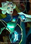 Camille, the Steel Shadow. League of Legends by AdrianWolve