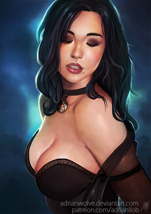 Yennefer Portrait (NSFW available)