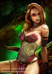Tylra Wildrunner (+ NSFW version) by AdrianWolve
