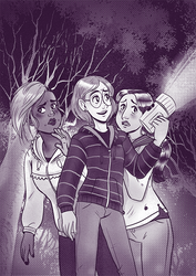 Ghost Hunting by glassie