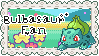 Bulbasaur Stamp by BloodyStuffyPaws