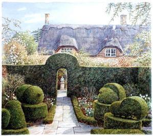 Hidcote Topiary by peterhodge