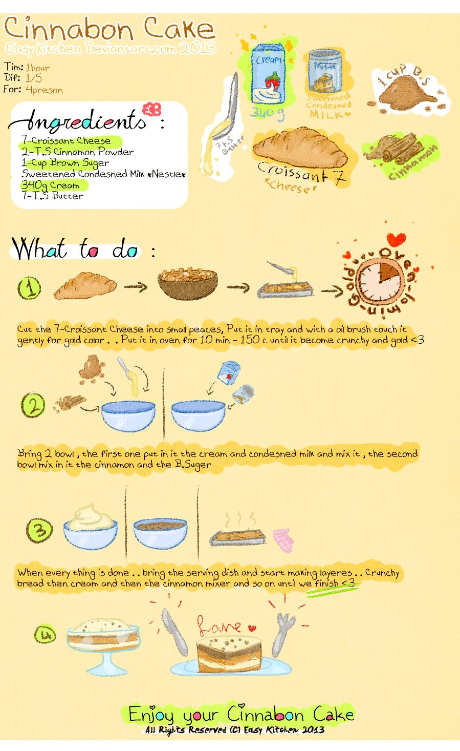 Easy Cinnabon Cake Recipe