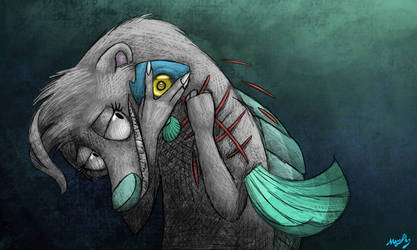 Obsession of the Twisted by Wolfywingedwolf