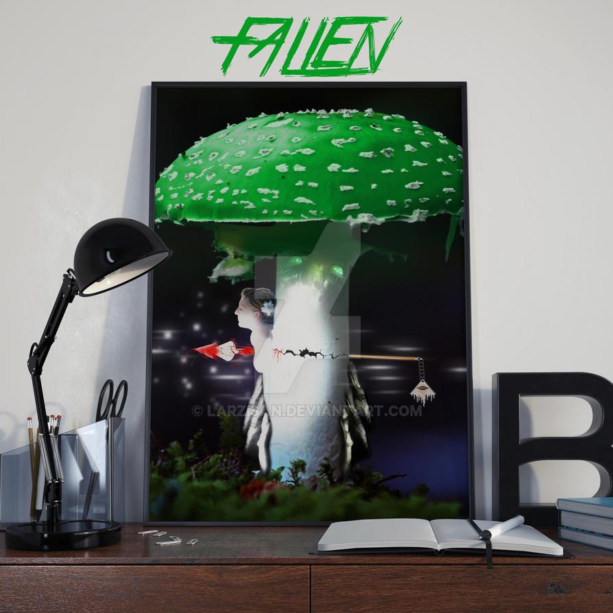 Poster Fallen by Larzisan