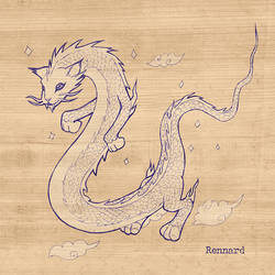 Chinese Dragon Long Cat