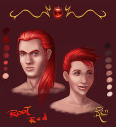 Chakra Test - Root Red by RennardX