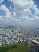 Ho Chi Minh City from above by spidermonkeycat