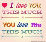 Love This Much by spidermonkeycat
