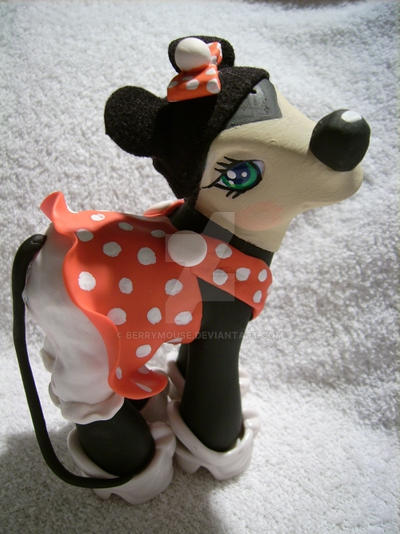 My little Pony Custom Minnie by BerryMouse