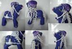 My little Pony Custom Frosty Starry Night $30