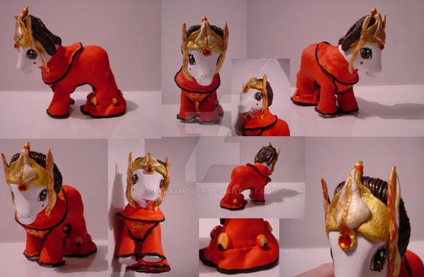 My little Pony Custom Amidala by BerryMouse