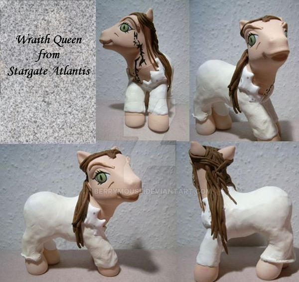 My little Pony Custom Wraith Q by BerryMouse