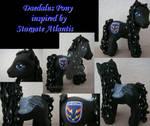 My little Pony Custom Daedalus