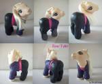 My little Pony Custom Doctor Who Rose Tyler