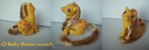 MLP My little Pony Custom Baby Butterscotch