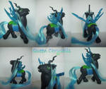 My little Pony Custom G1 Queen Chrysalis by BerryMouse