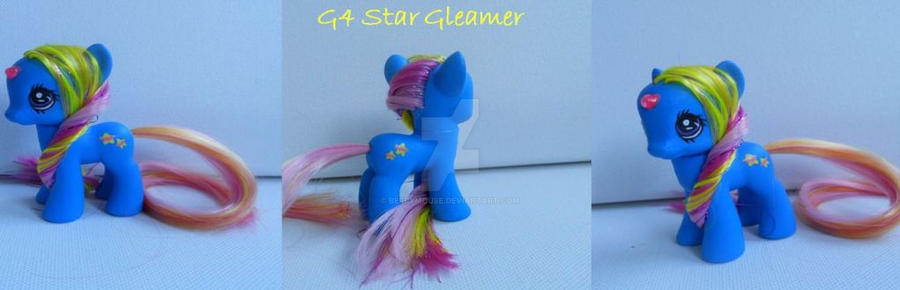 My little Pony Custom G4 Star Gleamer by BerryMouse