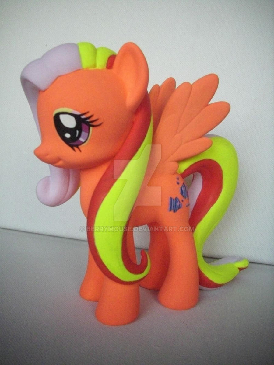 My little Pony Custom Design-a-pony G1 Sea Breeze by BerryMouse