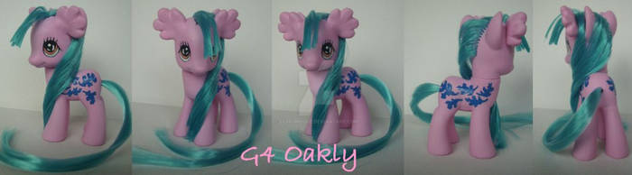 My little Pony Custom G4 Oakly
