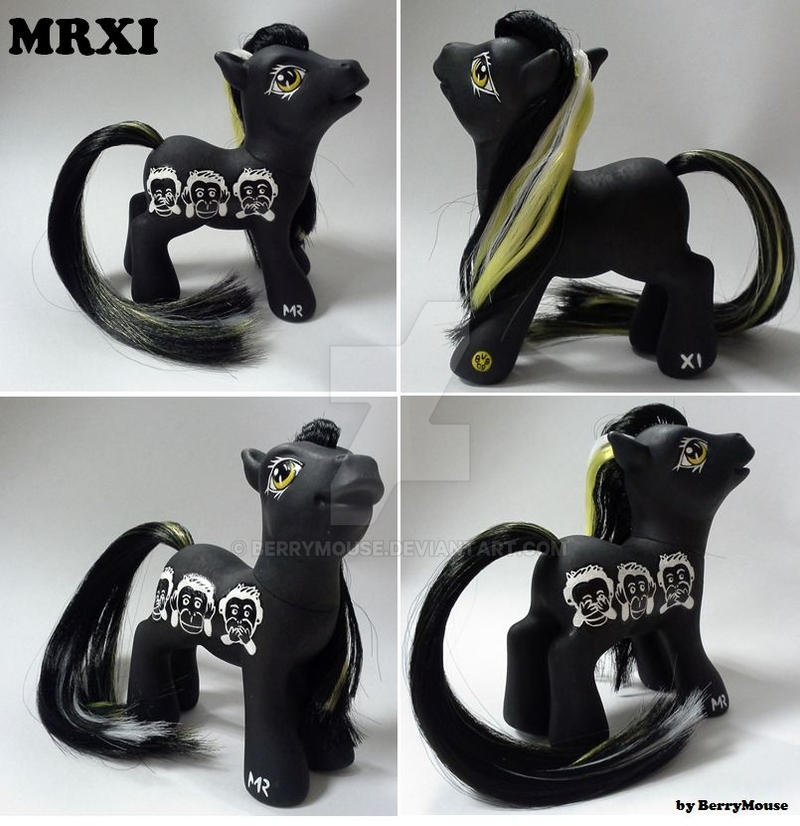 My little Pony Custom Tribute MRXI by BerryMouse