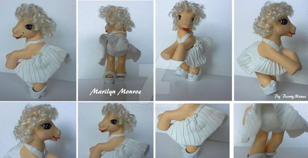 My little Pony Custom Marilyn Monroe No. 3 by BerryMouse