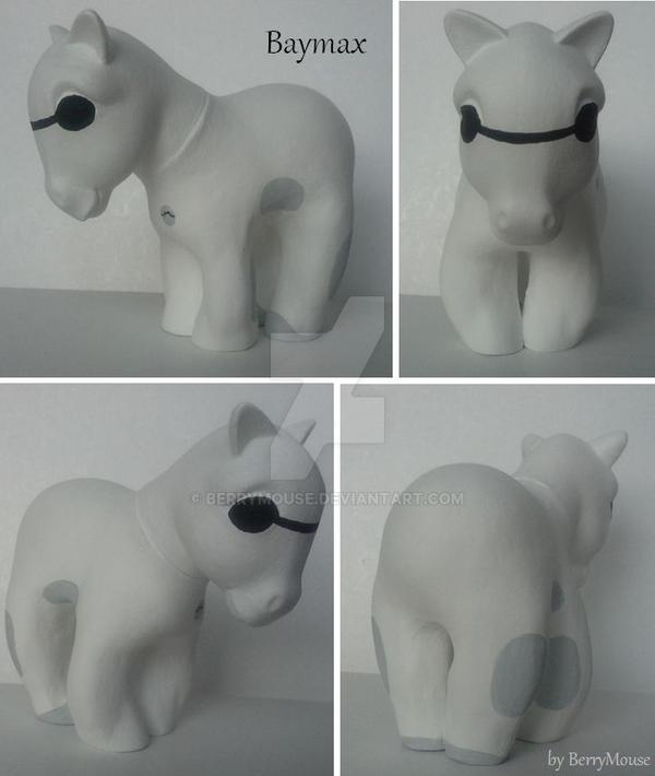 My little Pony Custom Baymax by BerryMouse