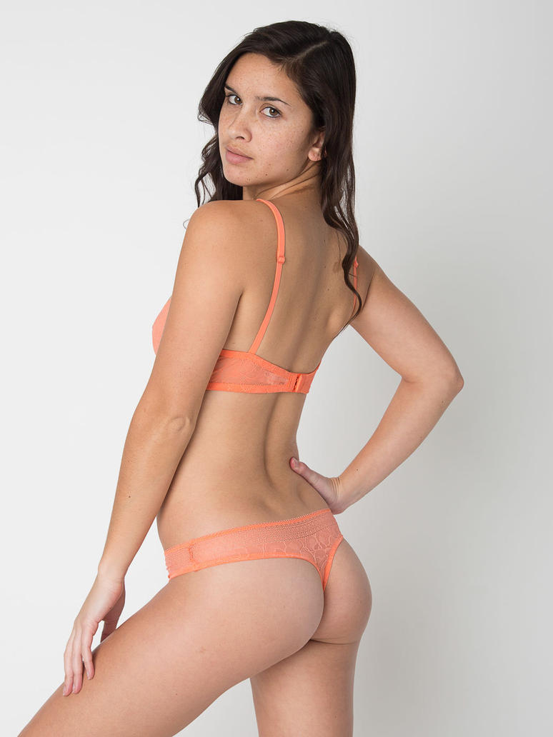 girl in sexy thong