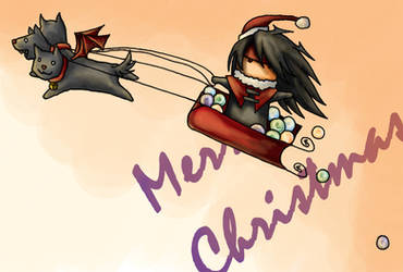 Merry Christmas. -Vincent. by mystic-Portal