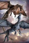 Zutara colored dragons