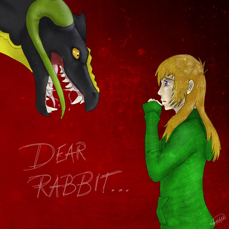 Dear Rabbit (Speedpaint) by DragonLover4Ever