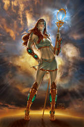 Legend of Isis - Issue3 by jossielara
