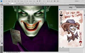 Joker Card Layout by jossielara