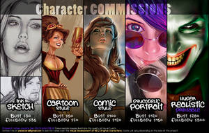 Character Commissions