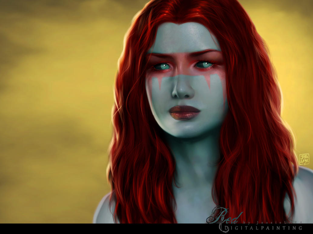 Red by JossieLARA by jossielara