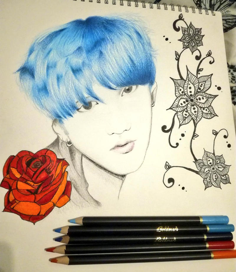 Min Yoongi - BTS by MapleAndAnimeCrazy