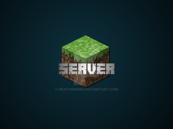 Minecraft Server Icon Template(.pdn) by DeathsRowe on DeviantArt