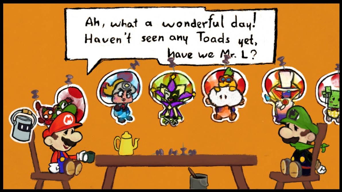 toad paper mario color splash characters