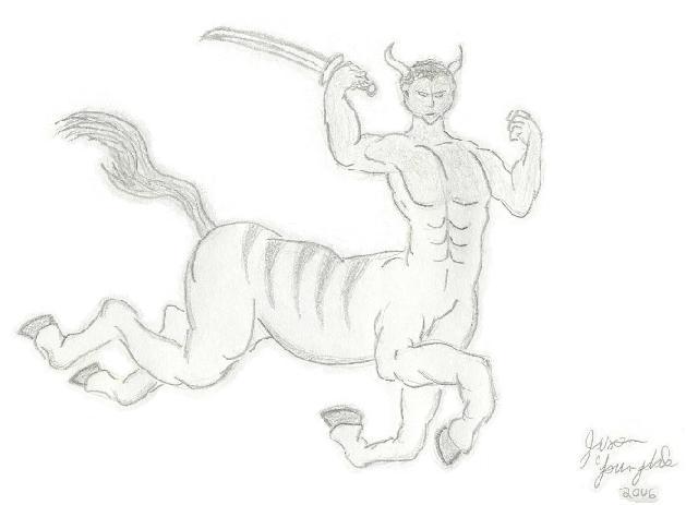 Centaur by JasonYoungdale