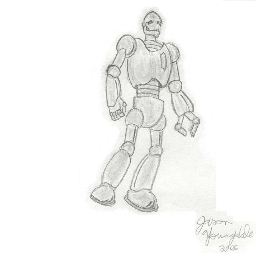 Robot 01 by JasonYoungdale