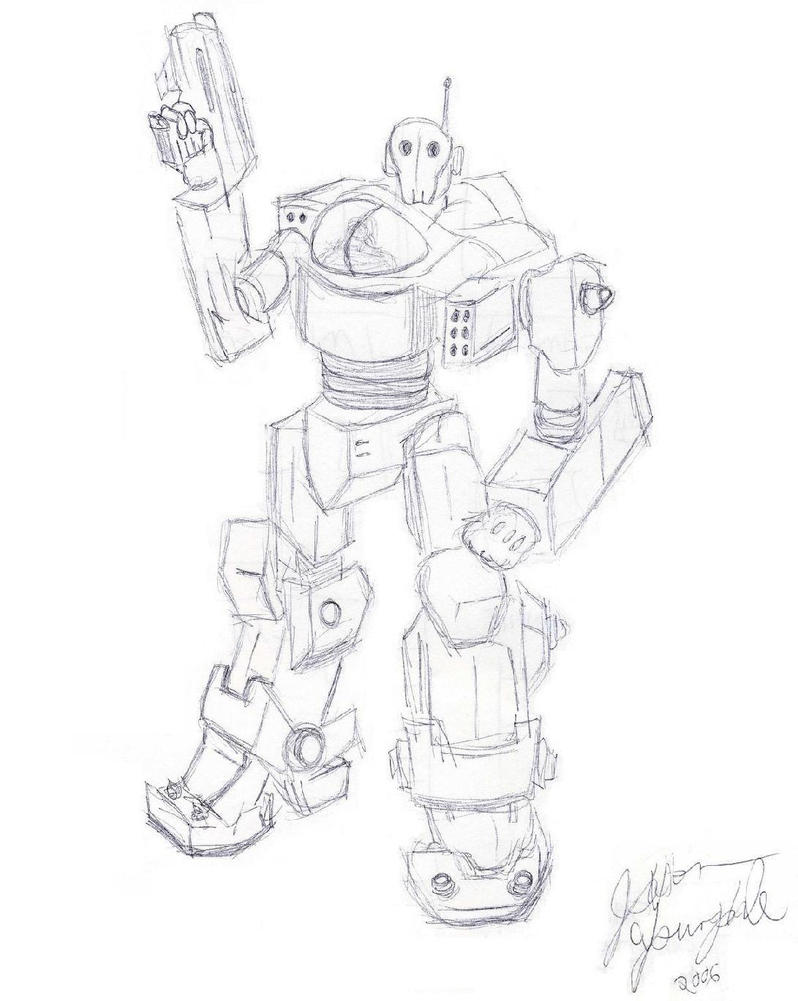Robot 03 by JasonYoungdale