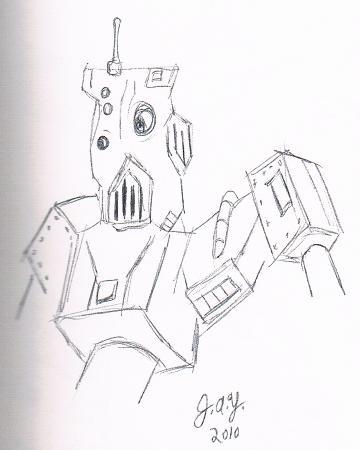 Robot 05 by JasonYoungdale