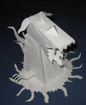 Papercraft Monster Right Side